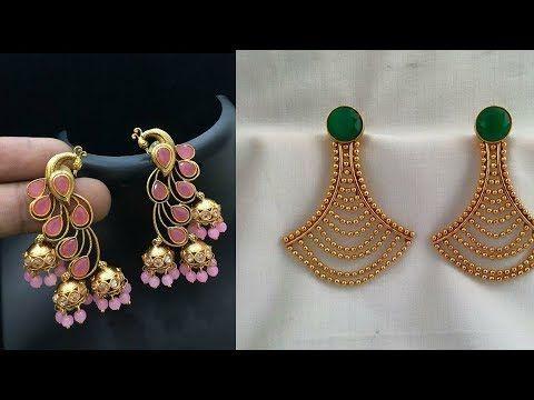 Beautiful Daily Wear Gold Earrings Designs New Earrings Design Ideas South Indian J Indian Jewellery Design Earrings New Jewellery Design Gold Earrings Designs