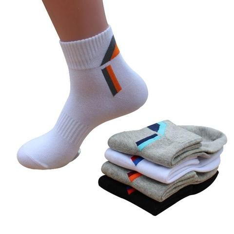 5 Pairs Mens Socks Cotton Sports Socks Mens Socks Elegant Top Offer