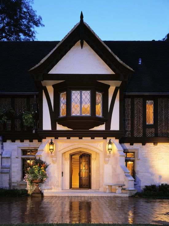 French tudor exteriors design pictures remodel decor for French tudor