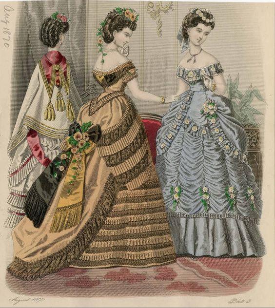 Le Monde Elégant 1870: