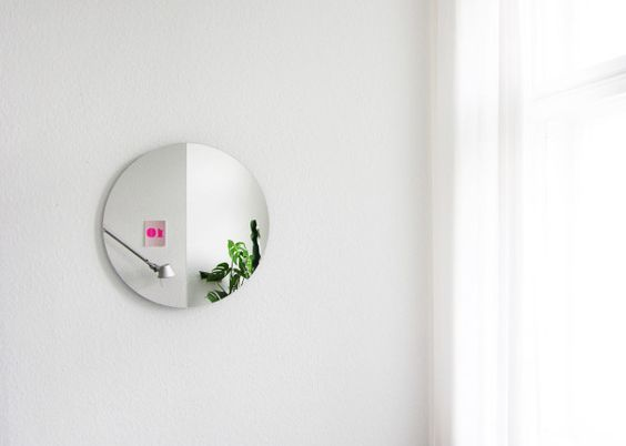 A Mirror That Lets You See Different Perspectives in home furnishings  Category #interior #mirror
