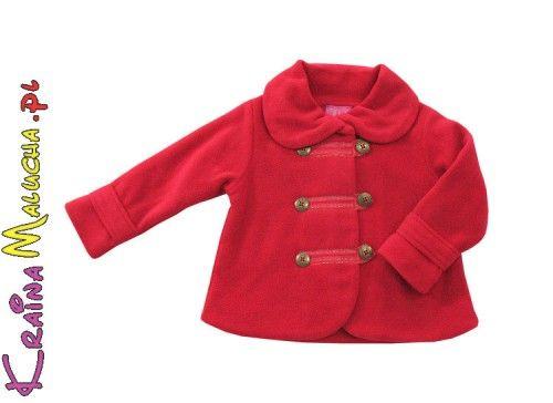 Ubranka Minoti - odzież dla dzieci i niemowląt. Na zdjęciu polarek dziewczęcy, więcej markowych ubranek - http://markoweubranka.pl/pl/producer/MINOTI/88/1/full