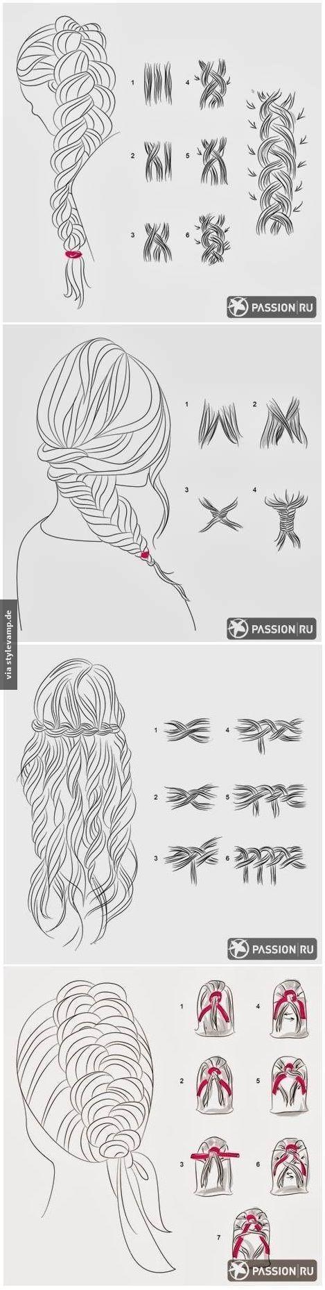 Frisuren zum Nachstylen: