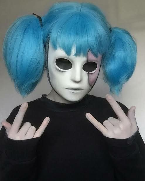 Pin De Alyse Johnson Em Halloween Costume Ideas Ideias De Cosplay Personagens De Terror Fotos De Anime Engracada