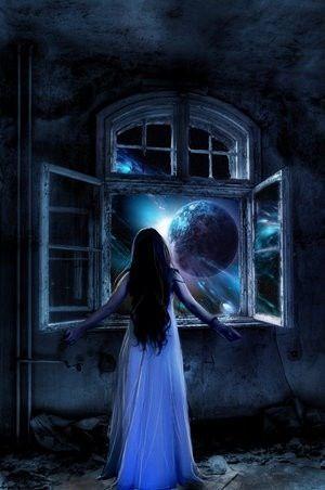 Ik weet niet waarom ik dit plaatje zo mooi vind. Waarschijnlijk door het mysterieuze en het magische tintje eraan. Heb je de vloer trouwens bekeken?: