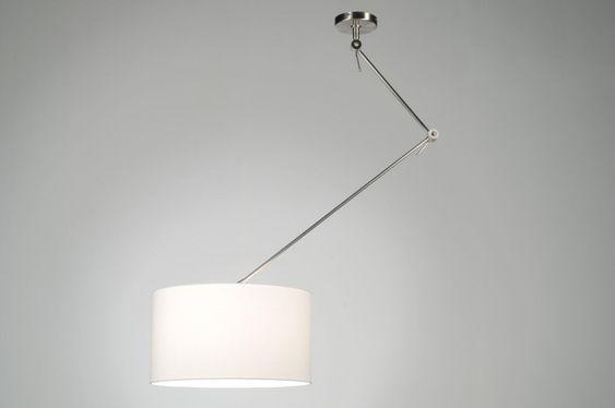 http://www.lampen1fachschoen.de/artikel/Pendelleuchte-30005-modern-Stahl_rostbestaendig-Stoff-weiss-rund 7 € 139,00