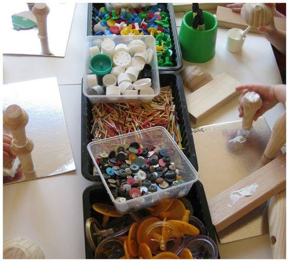Deje Que los Niños jueguen: Mar Reggio Inspirado: Materiales De Juego