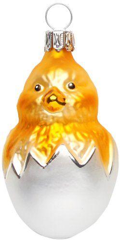 Inge Glas 55075 Glasornament Küken im Ei, mundgeblasen und handbemalt 7.5 cm Inge-glas http://www.amazon.de/dp/B00BCK1AGK/ref=cm_sw_r_pi_dp_blROub0MNCZ8B
