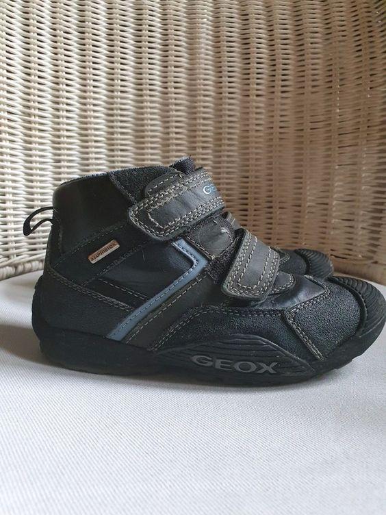 Buty Geox Skorzane Membrana Top Sneakers Wedge Sneaker High Top Sneakers