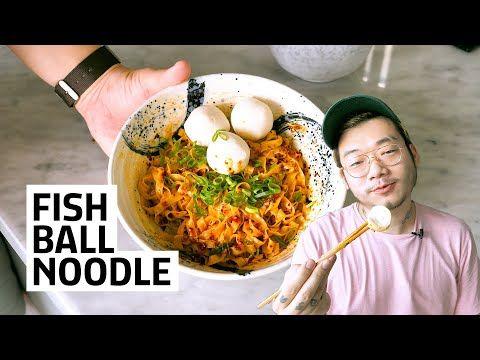 Resep Fish Ball Noodle Singapore Kaget Sendiri Hasilnya Youtube Resep Masakan Masakan Resep