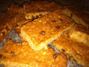 Easy granola bars for the kids. Much better than the store bought and they don't last long in this house!
