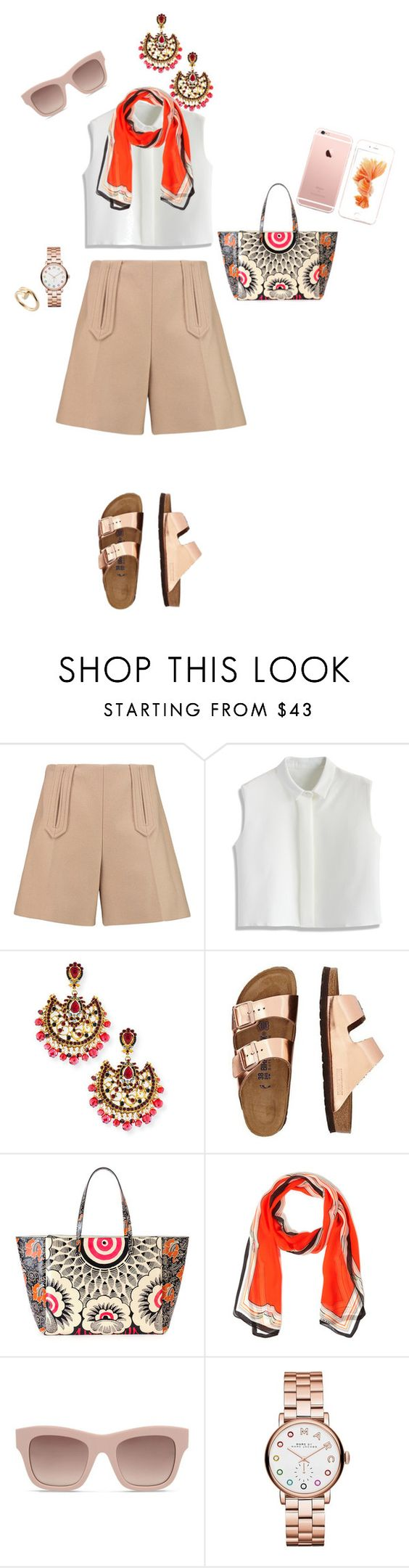 """Sin título #15"" by znouba-8 ❤ liked on Polyvore featuring Carven, Chicwish, Jose & Maria Barrera, TravelSmith, Valentino, Mary Katrantzou, STELLA McCARTNEY, Marc by Marc Jacobs, Cartier and women's clothing"
