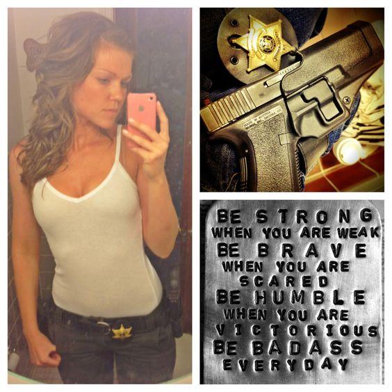 Make it look pretty, but train it to kill. #sheriffsdeputy