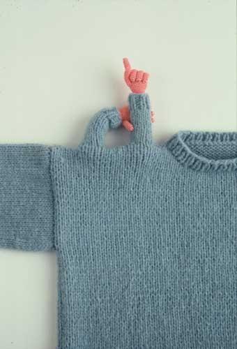 Askingsweater by Felieke van der Leest NL