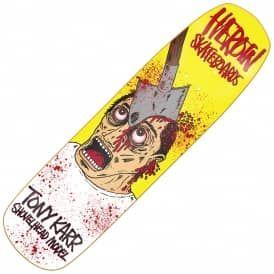 """Heroin Skateboards Karr Shovelhead Custom Skateboard Deck 8.75"""""""