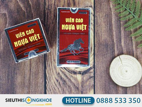 Viên Cao Ngựa Việt {250.000đ} - Viên Uống Bổ Trợ Sức Khỏe
