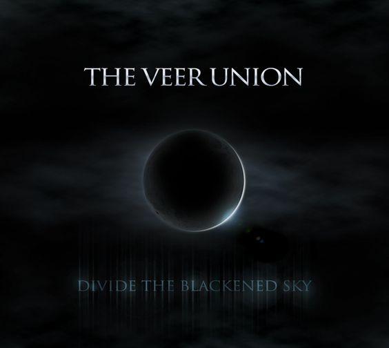 "New cover artwork for The Veer Union's ""Divide The Blackened Sky"""