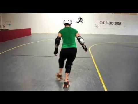 Weekend_Footwork - Grab a couple of minutes at practice this weekend to work on your foot and line work. The video above shows two variations, one with a hockey stop and one with a crossover step. You can do them both backwards and forwards.