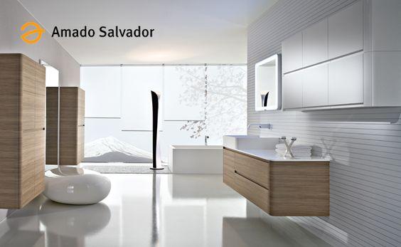 Muebles de baño de diseño italiano y nacional en Amado Salvador. Todos los estilos, todas las tendencias para ofrecer todas las soluciones a tu cuarto de baño