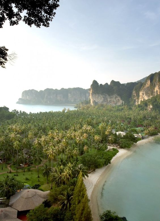 Rayavadee is a 26-acre property in Krabi, one of Thailand's lesser-known provinces.