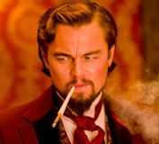 Calvin Candie. Leo is going to own this role.  Django Unchained!