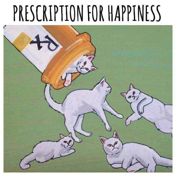 a nice prescription - also works with dogs :)
