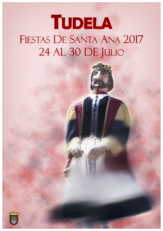 Cartel Finalistas Santa Ana Tudela 2017: