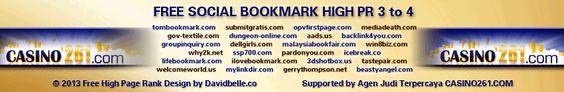 Free Socvial Bookmark List