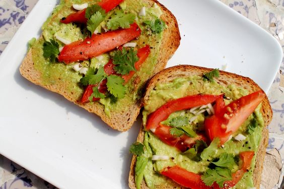 Veggies for Breakfast! Avocado Toast from Pepperoni Is Not a Vegetable