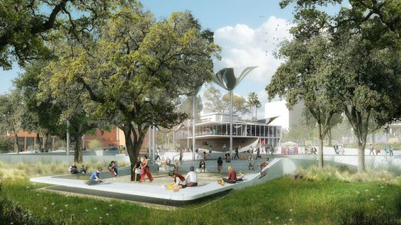 OMA WINS TO DESIGN NEW PARK FOR DOWNTOWN LOS ANGELES