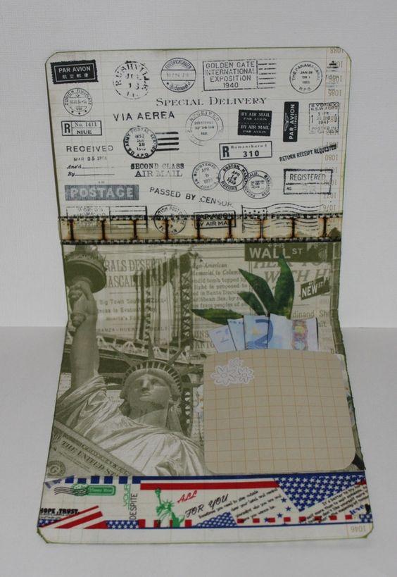 Geldgeschenke - Geldgeschenk für eine Reise nach New York - ein ...