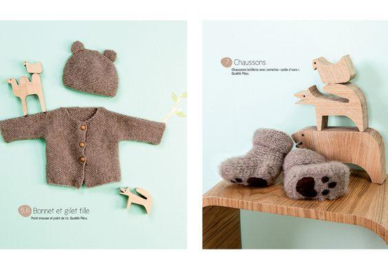 livre mod les tricot univers b b bebe layette and tricot. Black Bedroom Furniture Sets. Home Design Ideas