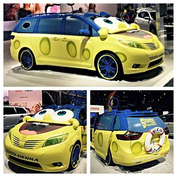 Spongebob minivan