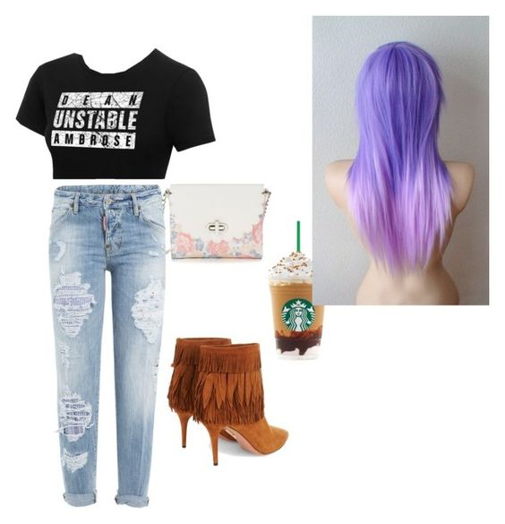 """DA fangirl on a date with her man"" by barbierollins on Polyvore featuring art"