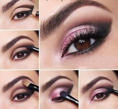 Fácil técnica de maquillaje con lápiz para ojos pequeños ~ Manoslindas.com
