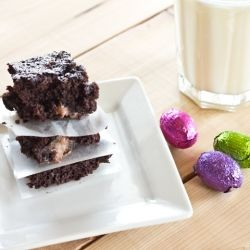Diet Coke Butterscotch Brownies by Dinners Dishes