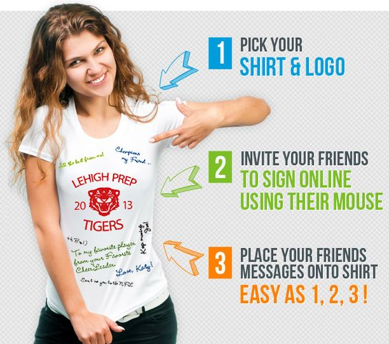 Up to $45 Gift Code to Sign My Shirt - Custom Personalized Tees ...