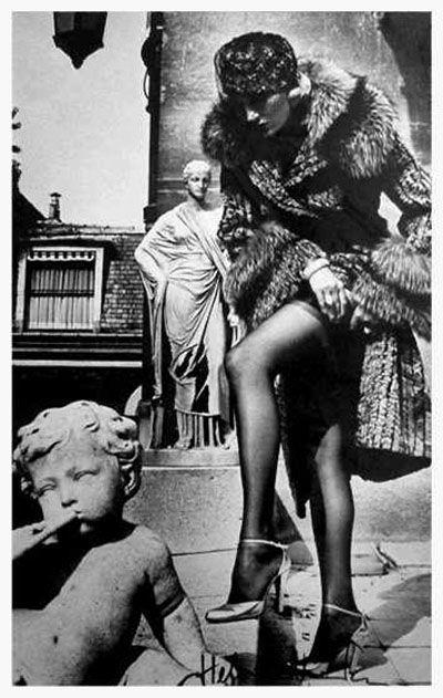 Fashion Photograph, Paris by Helmut Newton