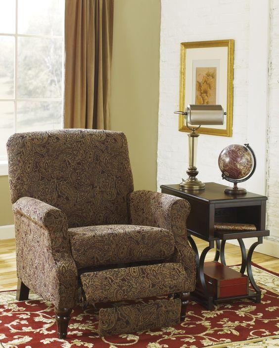 Placido High Leg Recliner From Ashley Living Room