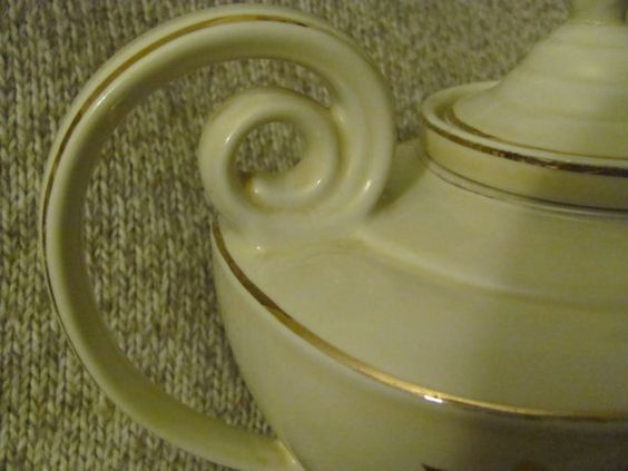40's Hall Alladin Teapot in Jewel Tea Autumn by MostlyAwesomeStuff