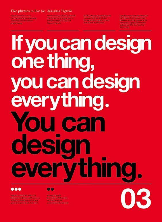 5 Lessons from Massimo Vignelli   Abduzeedo Design Inspiration & Tutorials