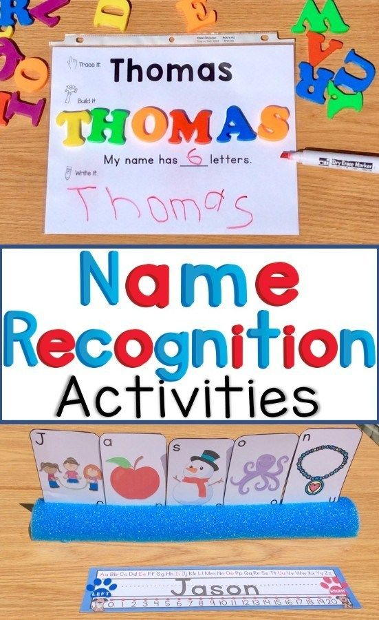 Montessori Inspired Name Recognition Activities For Preschoolers Preschool Activities Montessori Activities School Activities