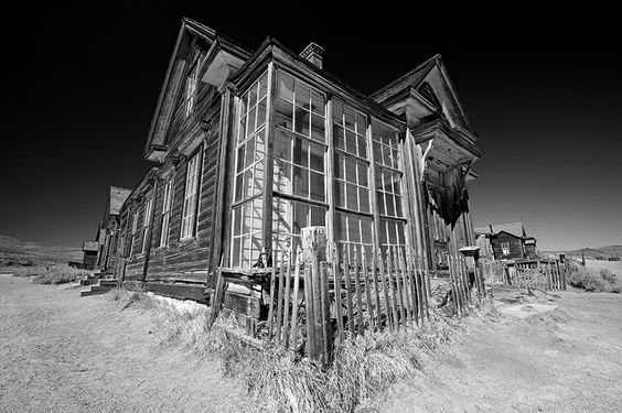 BODIE STATE PARK, CALIFORNIA - OCTOBER 2010: Historic storefront located in Bodie State Park in the Eastern Sierra, California. Bodie is one of the largest ghost towns located in the United States and was once the second largest city in California.