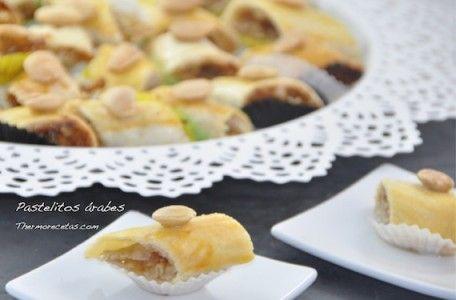 Pastelitos árabes con almendra y agua de azahar ¡una delicia!