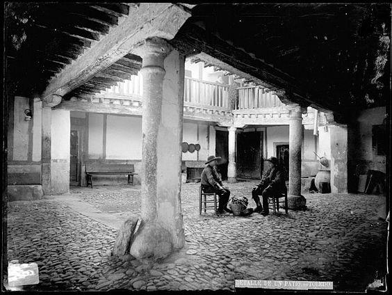 Casiano Alguacil. Hombres sentados en la Posada de la Sangre
