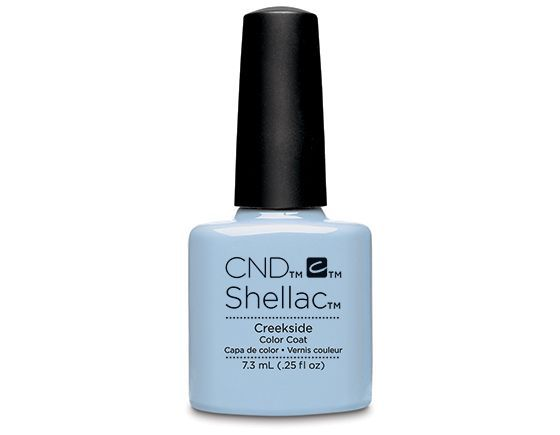 Creekside is a perfect cool blue for Spring 15. A surprisingly easy colour to wear too, this pastel blue will slot right in to your favourites. Be brave - go blue. x