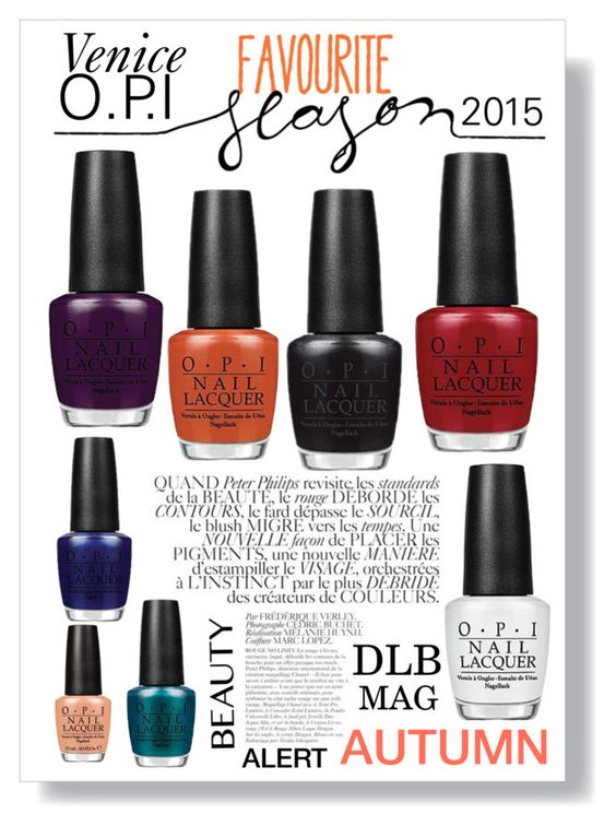 VENICE OPI COLLECTION by dianalugobermudez on Polyvore featuring Belleza, OPI and Bela