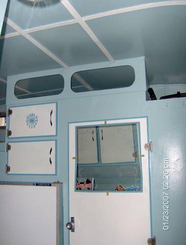 Serro Scotty Highlander Interior Blue Paint White Trim On The Ceiling Is Cute Cupcake