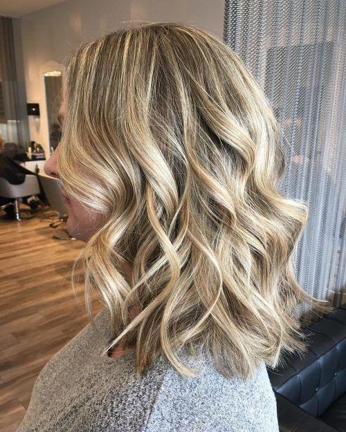42+ Wavy curls medium hair ideas in 2021