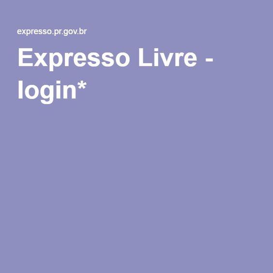 Expresso Livre - login*